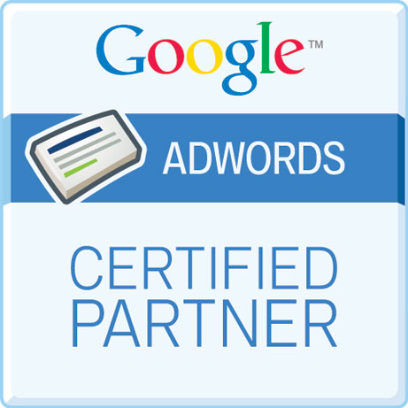 Zoekmachine marketing: Google AdWords Certified Partner badge