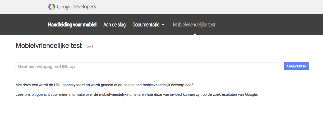 google update mobiel-vriendelijke websites mobile friendly test