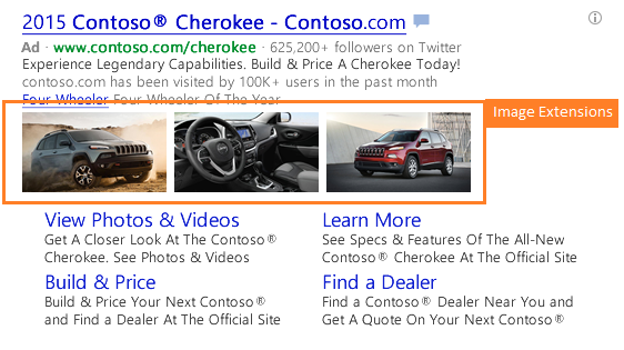 microsoft bing ads image extensions 2