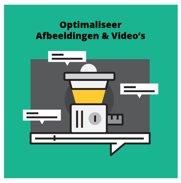 Optimaliseer video en afbeeldingen