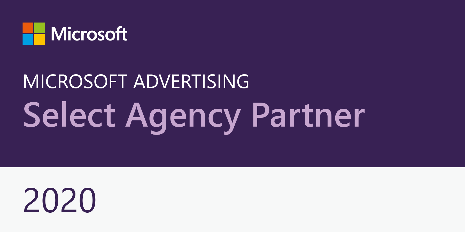 microsoft advertising select agency badge