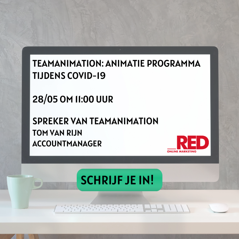 Webinar van teamanimation.