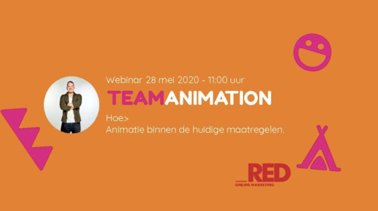 Webinar van TeamAnimation voor Comeback Marketing.